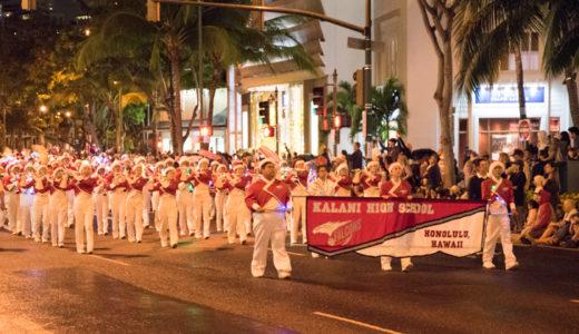 【ハワイ11月のおすすめイベント】ワイキキ ホリデー パレード |2019年の開催概要とルート