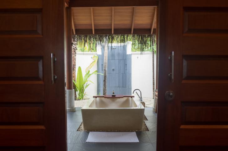 モルディブのバスルーム