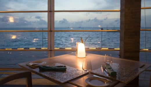 【モルディブ】アナンタラディグのレストラン|ハーフボードに含まれる食事と子供のメニュー