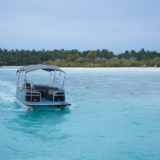 モルディブのボート