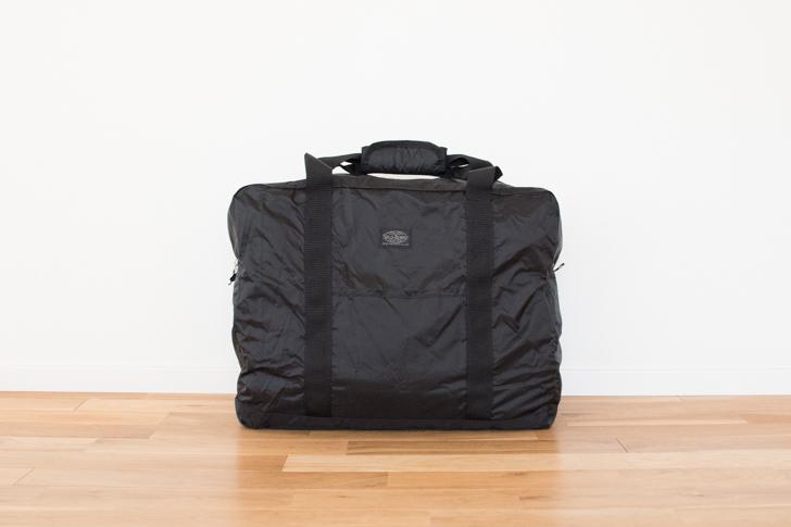ソロツーリストの折りたたみバッグ