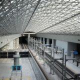 ソウル駅のホーム