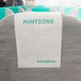 ミントゾーンのシート