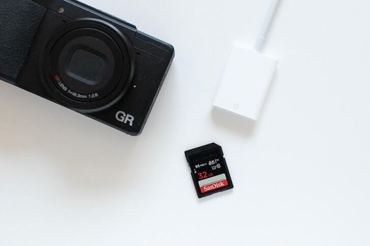 SDカードカメラリーダー