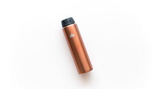 旅行におすすめの水筒【軽量&スリム】ロゴスの携帯オアシスをレビュー