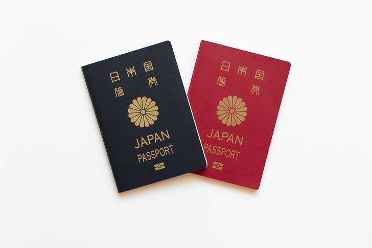 パスポート 5年と10年