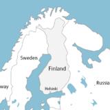 フィンランド ヘルシンキの位置