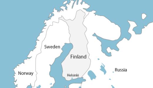 【フィンランド】ヘルシンキの観光エリアと見どころを地図でチェック