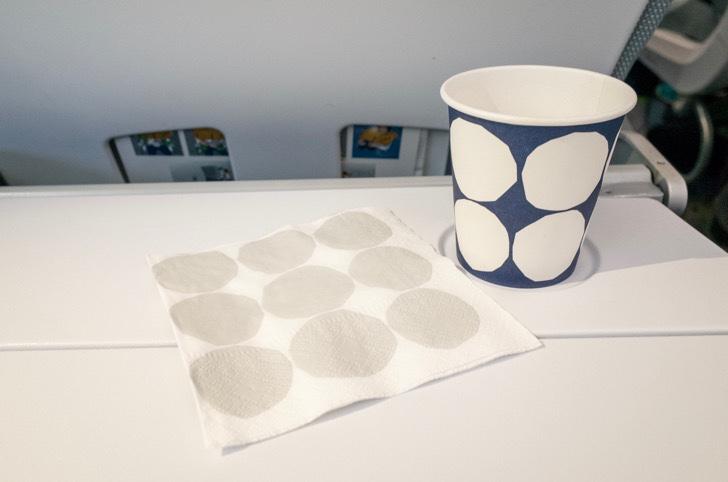 マリメッコの紙コップ