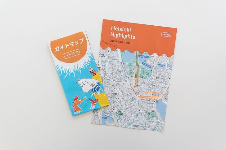 ヘルシンキの地図
