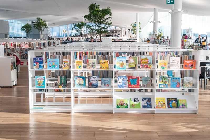 ヘルシンキ中央図書館 Oodi
