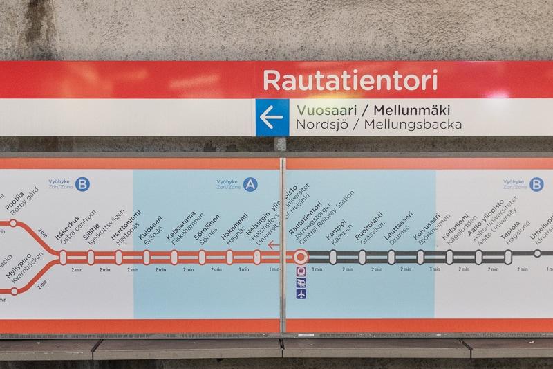 地下鉄の線路図