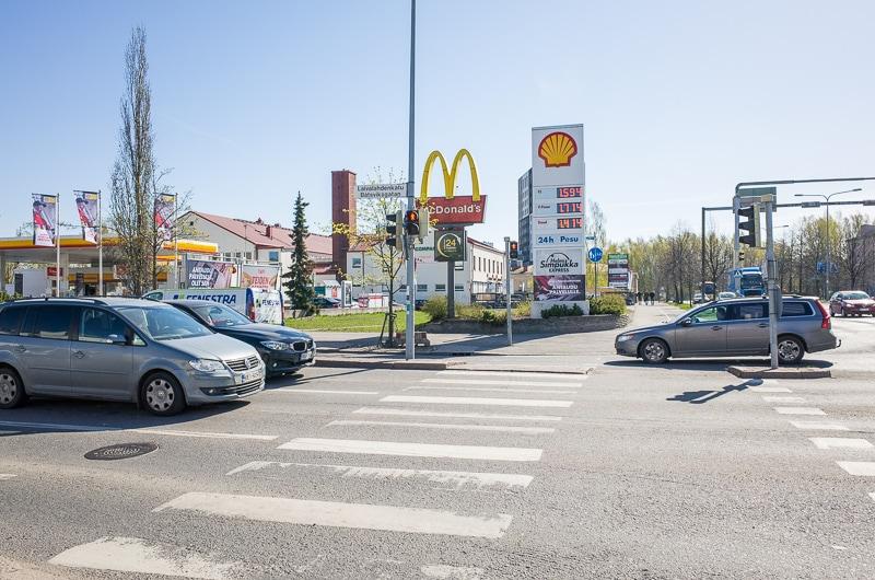 マクドナルドの交差点