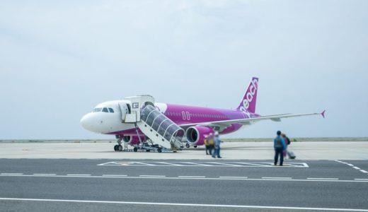 【ピーチ】Peach 搭乗記|関空-釜山便のチェックインから機内販売まで