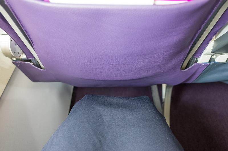 ピーチの座席間隔