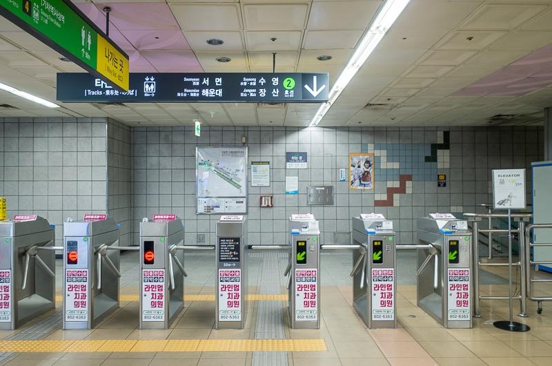 2号線 沙上駅