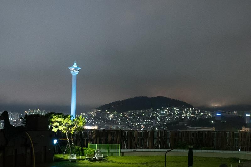 ロッテマートから見る夜景