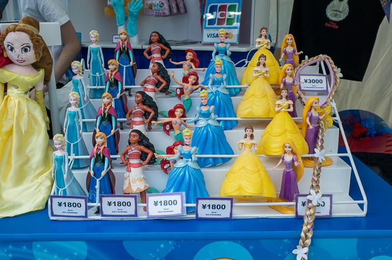 プリンセスの人形