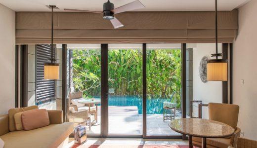 【リッツカールトン バリ】サワンガンジュニアスイートの素敵な部屋とアメニティ