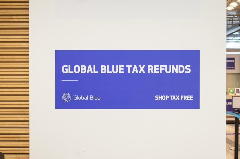 グローバルブルー手続き