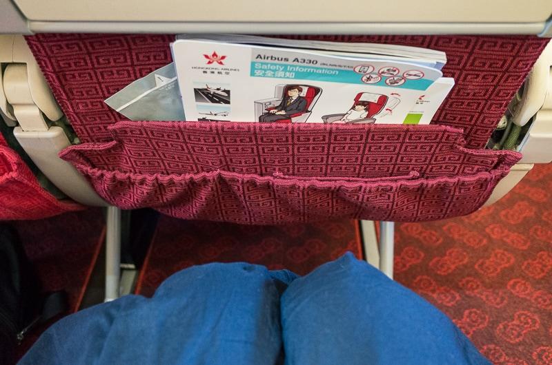 香港航空の座席