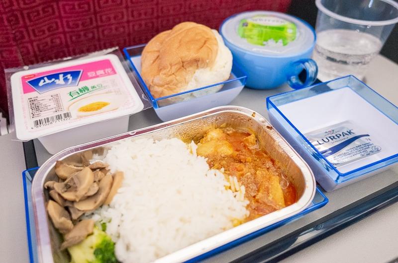 香港航空の機内食