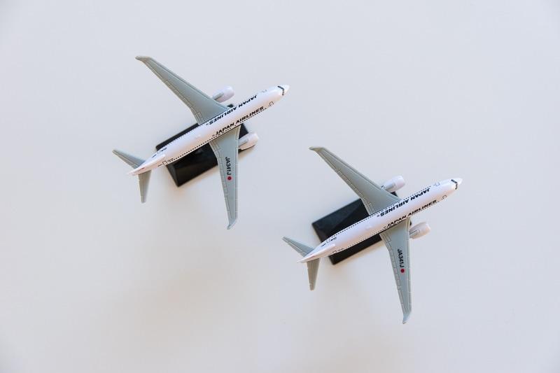 JALミニチュア飛行機