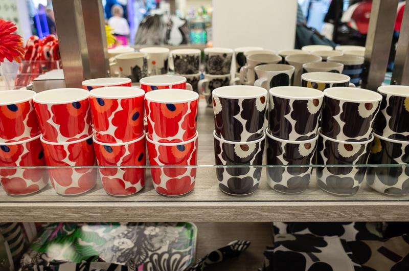 マリメッコのマグカップ