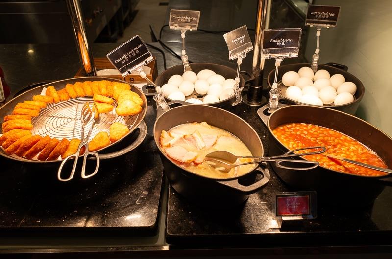 卵料理など