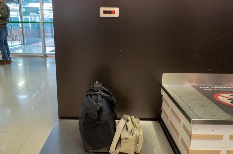 機内持ち込み荷物の重さ
