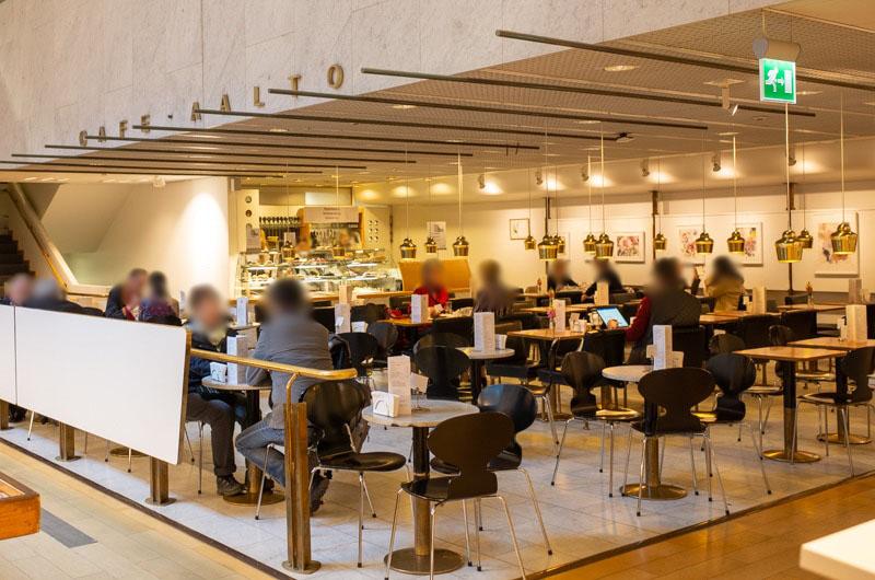 ヘルシンキのカフェ・アアルト