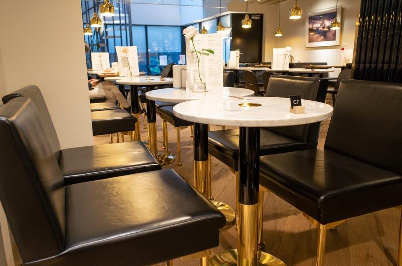 カフェ アアルトの椅子