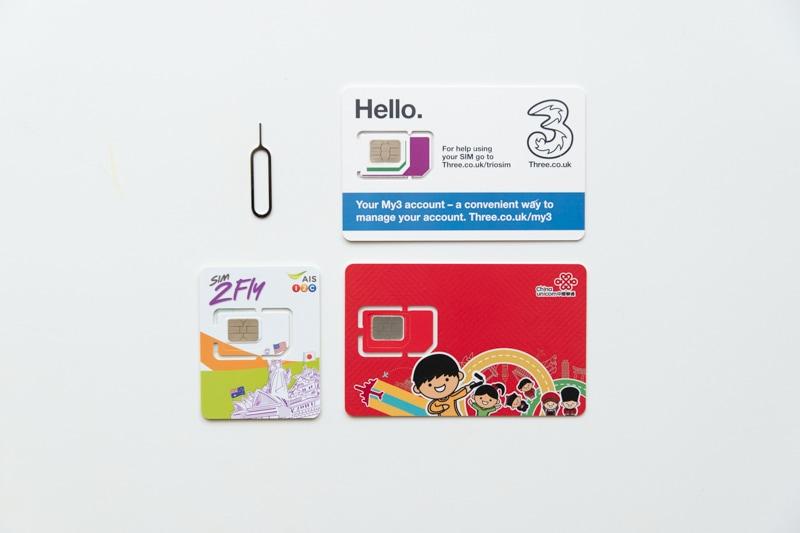 海外用SIMカード