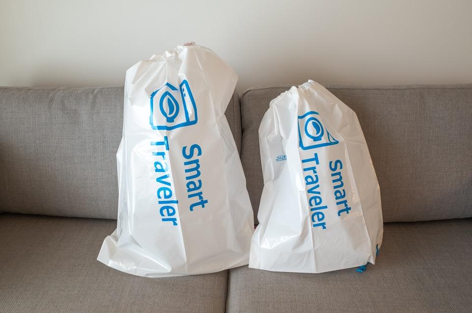 スマートトラベラーのランドリーバッグ