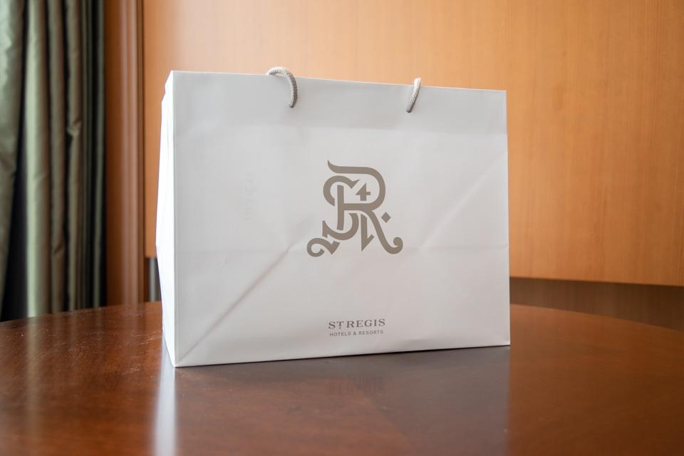 セントレジス大阪 紙袋