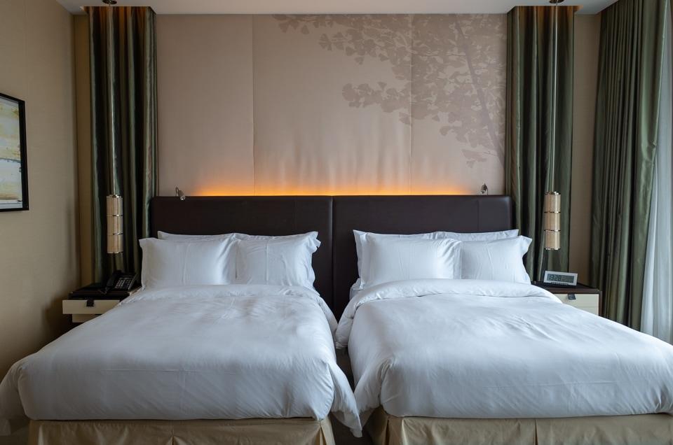 セントレジス大阪 ベッドルーム