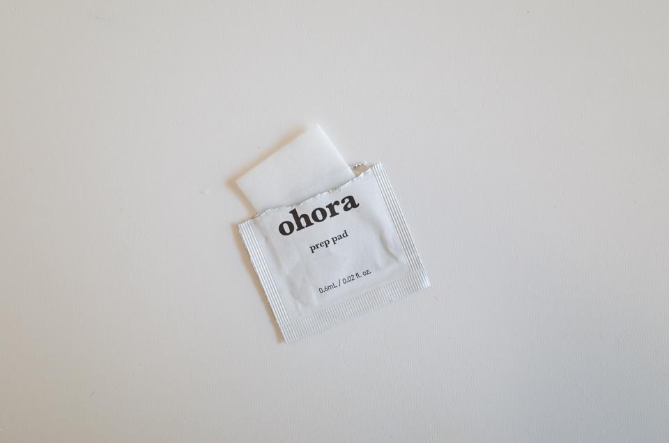ohora アルコールシート
