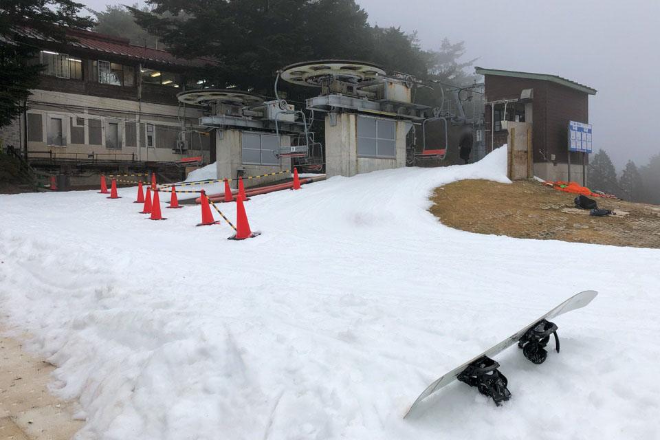 六甲山スノーパークのリフト