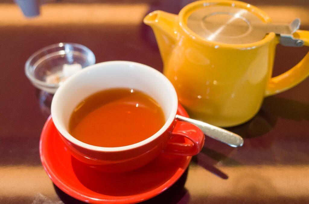 アフタヌーンティーの紅茶