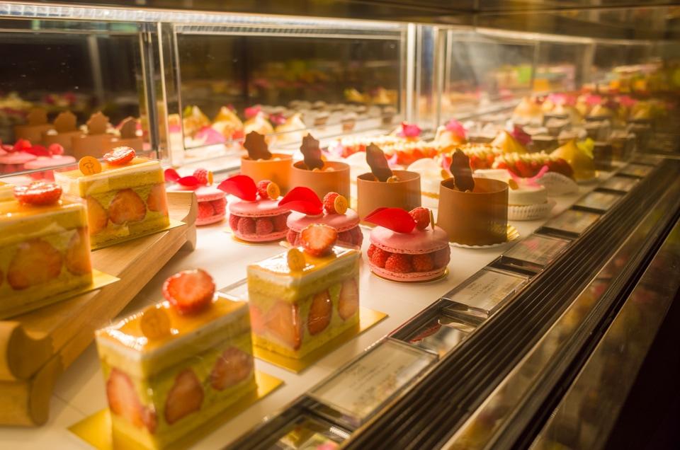 ピエール・エルメのケーキ