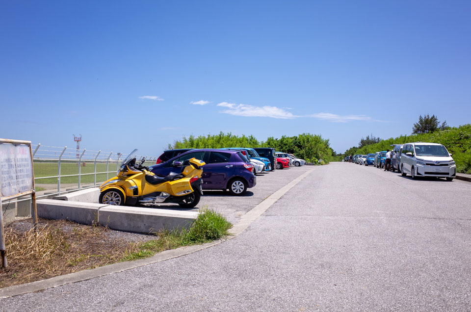 17ENDの駐車場